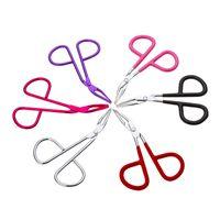 Pinça de sobrancelha prático Rosto Depilação Make Up Scissors Durable Metal Cosméticos Trimmer Eyelash Clipper Beauty Tool