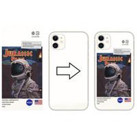 DIY мягкий силиконовый прозрачный TPU телефонный чехол на заказ УФ-печать для iPhone x 12 Pro Max для крышки Samsung S20