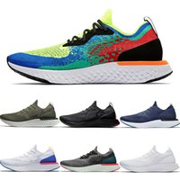Nike EPIC React New Arrival 2020 Epic React Womens FK v1 v2 Running Shoes Knit Mens Burgundy Purple Purple White Grey Brown Brown Plum Blue Belgium Green Trainers