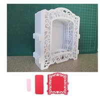 Creative lace frame Customized New scrapbooking DIY Carbon S...