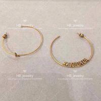 Populaire marque de mode boucles d'oreilles Haute version pour dame design femmes Party cadeau Lovers mariage bijoux de luxe pour la mariée ETUI