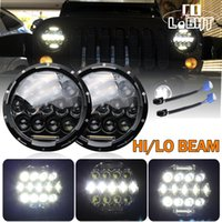 7 Led Headlight Kit 75w 35w H4 H13 Hi- Lo Beam The Daytime Ru...
