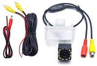 Auto telecamera posteriore d'inversione di sostegno Parcheggio la macchina fotografica con la luce del LED per Toyota Corolla / Altis / Yaris / Vios / Camry XV50 / Highland // Fortuner2015 +
