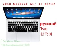 Russian Thai Taiwanese Korean Language Silicone Laptop Keybo...