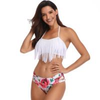 Costume da bagno donna sexy bikini frazionato Costumi da bagno donna, famosa casa di moda Costume da bagno bikini a vita alta, sportivo flessibile, negozio online