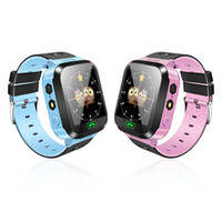 Y21 GPS Kinder Smart Watch Anti-Verlorene Taschenlampe Baby Smart Armbanduhr SOS Anruf Location Device Tracker Armband Sicher Für iOS Android Handy