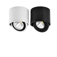 AC85V-265V a superfície montada LED COB baixo luz 3W / 7W LED lâmpada do teto Spot Light com driver de LED branco / branco morno Spot Light