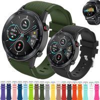 22mm Silikonband Armband för Huawei Honor Magic Watch 2 GT GT2 GT 2 46mm Sportgummiband