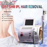 2020 E-luz IPL SHR OPT Rrmoval máquina portátil para el cabello de la piel Depiladora pelo Rejuvenecimiento el uso del salón de belleza Equipo