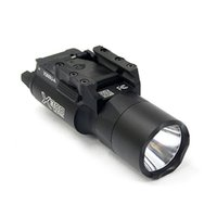 전술 SF X300 울트라 LED 화이트 라이트 X300U 사냥 소총 권총 빛은 피카 티니 또는 범용 레일에 맞게