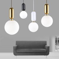 2017 Newest Nordic Style Glass Ball Pendant Light Single- hea...