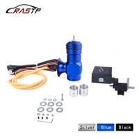Rastp-gratis verzending Universele Elektrische Turbo Diesel Dump Klep Black Up Klep BOV Kits Vacuüm Control RS-BOV037