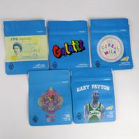 GALLETAS DE BOLSA 3,5 g Estrella Gary Payton olor bolsas resistentes a Vape embalaje para bolsa de hierba seca vaporizador galletas bolsa con papel de aluminio