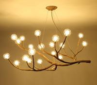 Nordic-Lampen-LED Pendelleuchten Harz Eisen Glas Blase Industrie Restaurant Schlafzimmer Hanging LOFT Designer-Lampe LLFA