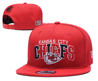 Venta al por mayor 2019 de calidad superior KC Chief Snapback Hats Gorras bordado Team Logo Fan's Hip Hop Deportes baratos Béisbol Gorras ajustables Bones
