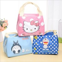 Fashion Portable Cartoon Cat Thermal Cooler Insulated Waterp...