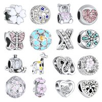 2019 New Infinite Shine Sweet Home Bead fit Original Pandora...