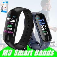 حار بيع M3 Smartband للياقة البدنية تعقب الضغط الذكية سوار الدم رصد معدل ضربات القلب الذكي للماء الفرقة PRO معصمه الفرقة الذكية