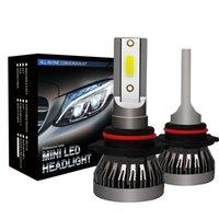 자동차 Led 조명 자동차 LED 헤드 라이트 전구 H1 H11 9005 9006 90W 12000LM 6000K 12V 자동차 미니 헤드 램프 COB 안개등 미국 주식
