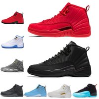 Mens 12s basketball shoes Winterized WNTR Gym Red Michigan T...