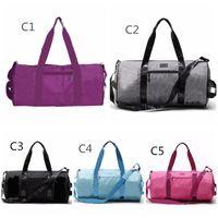 패션 여성 남자 핸드백 여행 가방 비치 가방 더플 숄더 가방 대용량 방수 성인 휘트니스 요가 가방