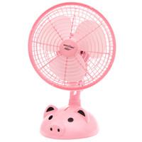 Fan de bande dessinée 182 bureau portable mini ventilateur étudiant dortoir secouant la tête ventilateur électrique en gros