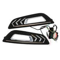 2 stücke Weiß LED Spezielle Auto Tageslicht LED Tagfahrlicht Modified Mustang Lampe Fit für 15-17Für 15-17 Ford Focus Auto Licht
