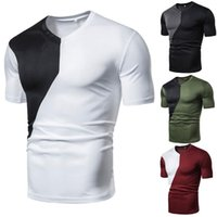 Men' s large size casual fashion short- sleeved polo shir...