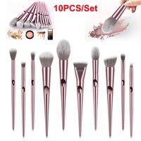 Make-up Pinsel 10 Stück / Set nasse und wilde Kosmetik Pinsel Puder Foundation erröten Lidschatten Pinsel Kit Beauty Make-Up-Tool kostenlos DHL