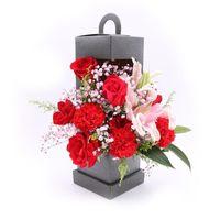 Vendita Calda faro portatile Flower Box Fold Handmade Bouquet pacchetto Gift Boxs Wrap Hardboard ripristinare antichi modi 6 2HX C19