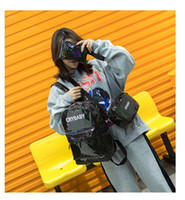 New Three- piece Designer Brand Letter Backpack Casual Breath...