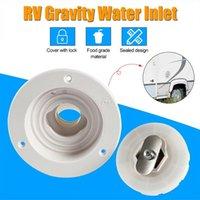 Parts Caravan Hatch Gravity Water Inlet Lockable Rv Boat Filler Neck Plastic Trailer Tank Filter Accessories