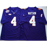 New Arrival. Mens Clemson Tigers Deshawn Watson Stitched Name Number  American College ... f0f570281