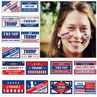 الجديد دونالد ترامب ملصقات السيارات الدفتري ثلاجة ملصق 2020 الانتخابات الرئاسية الوجه ملصقات حافظ على جعل أمريكا العظمى HHA1318