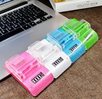 Universal USB Battery Charger Tela Indicador LCD Com US ficha de carregamento Adaptador para Smart Android Telemóveis Bateria