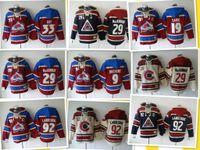 852f723267d New Arrival. Colorado Avalanche Hockey Men Jerseys 9 Matt Duchene 29 Nathan  MacKinnon 33 Roy 92 gabriel landeskog ...