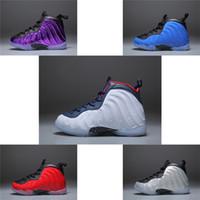 sports shoes da0d2 9bd28 Nike air Hardaway Diseñador Barato NIÑOS Zapatillas de baloncesto One Penny  Hardaway Tenis de niños ESPUMA Berenjena Zapatillas de deporte de baloncesto  ...