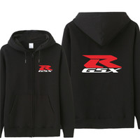 Осень Suzuki Motor толстовки мужская мода пальто флис пуловер унисекс человек Suzuki GSX R кофты
