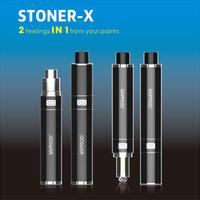 Vapmod Stoner X Kit Cire Vaporisateur Vape Stylo E Kit Cigarette Dab Coil Touch Bobine Tension 1000mAh Réglable Vape Pen Stylo Vapeur