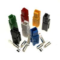 1 Pin colores Nuevos 30A 600V Conector de alimentación Enchufe de la batería + terminales Juegos de conectores Para E-Bike, carretilla elevadora, electrocar