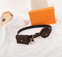 مصمم النساء الفاخرة DAILY MULTI POCKET 30MM حزام المرأة حزام حقيبة M0236U حزام حقيبة عملة محفظة حقيبة الخصر حزمة مضحك مع مربع