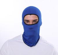 Ao ar livre montando a máscara completa máscara de ventilação chapéu balaclava motocicleta tampão protetor solar elástico magia bandanas tubo lenço headband hijab chapéu