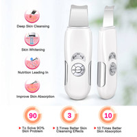 NOVITÀ Beauty Star Ultrasonic Face cleaning Macchina per il massaggio del viso con scrubber per il viso Macchina per anioni per la pulizia profonda del viso Scrubber per il lifting del viso