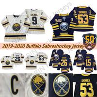 50. Goldene Buffalo Sabes Jersey 9 Jack Eichel 26 Rasmus Dahlin 53 Jeff Skinner 55 Rasmus Ristolainen 23 Sam Reinhart Hockey Trikots