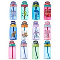 Spor Su Sisi plastik şişe FY4123 kamp ile Taşınabilir Açık Spor Su Kettle Anti-Kaçak İçki Kupası'nı Şişe Sprey 480ml