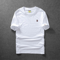 Deisgner Mens T Shirt Embroidered Solid Color Bottoming Shir...