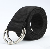 Hot Casual Unisex Canvas Fabric Belt Strap D Ring Buckle Web...