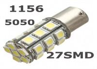 10X 1156 S25 27SMD مبة LED 5050 لتشغيل RV SUV السيارات الذيل ضوء لمبة الإشارة ضوء ماركر وقوف السيارات لمبة 12V