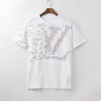 2020 neue luxusdesigner kleidung europa italien zusammenarbeiten roma special edition tshirt männer frauen t shirt casual baumwolle tee top männer frauen