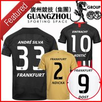 19 20 Eintracht Frankfurt soccer jerseys home away third And...